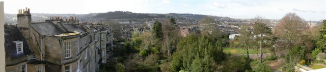 View of Bath/Victoria Park from Circus