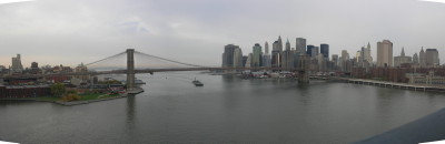 Brooklyn Bridge taken from Manhattan Bridge